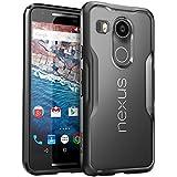 Nexus 5X Case, SUPCASE Google Nexus 5X Case Cover (2015 Release) Unicorn Beetle Series PremiumSlim Hybrid Protective Case / Bumper (Frost/Black)