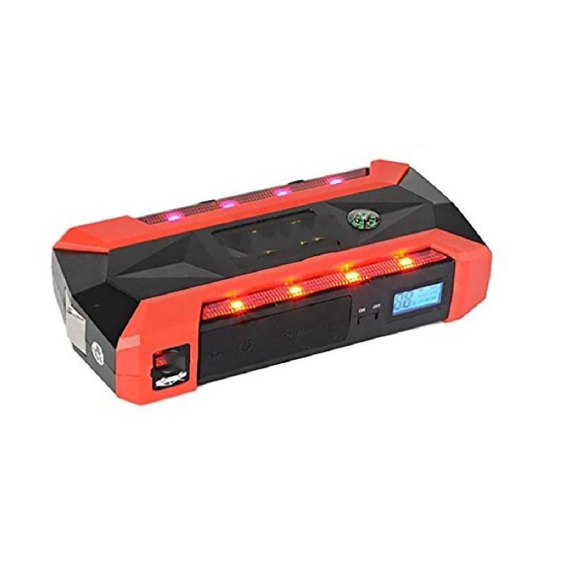車のスターター/600Aピーク/13600mAh/スーパーチャージャー/緊急電源/緊急オート/スタートアップ電源/スーパーブライトネス/LEDフラッシュ B07D6QHTQ9