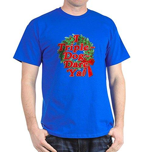 CafePress Triple Dog Dare A Christmas Story Dark T Shirt 100% Cotton ()