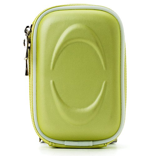 Slim Protective Eva Green Compact Carrying Case for Canon PowerShot Series Point and Shoot Cameras
