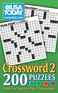 image regarding Usa Today Crossword Printable called United states These days Crossword 3: 200 Puzzles versus The Nations around the world No. 1
