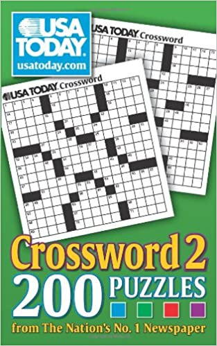 Usa Today Crossword 2 200 Puzzles From The Nations No 1 Newspaper