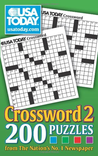Usa Today Crossword 2  200 Puzzles From The Nations No  1 Newspaper  Usa Today Puzzles