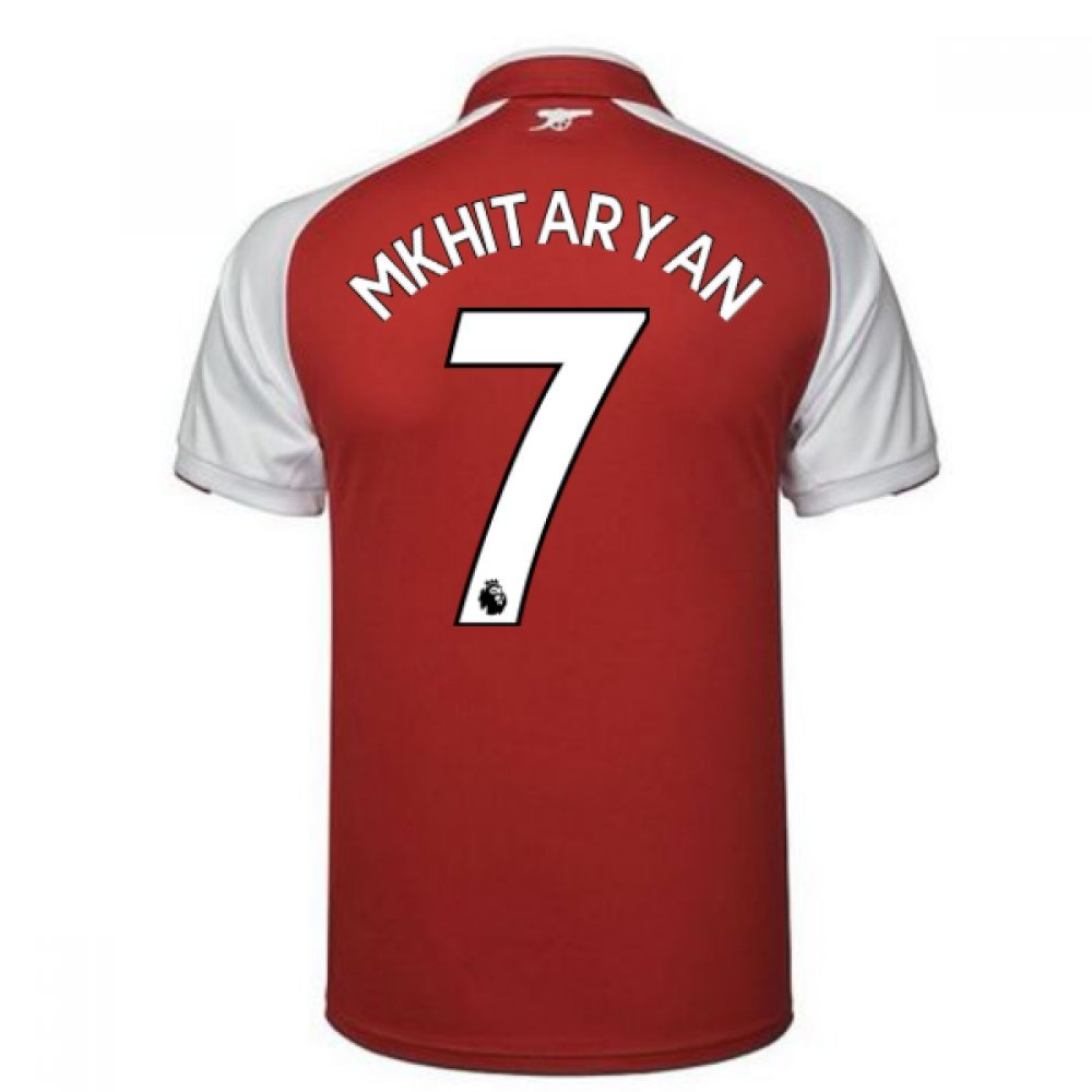 2017-18 Arsenal Home Shirt (Mkhitaryan 7) B079NNNXWP XXL Adults|Red Red XXL Adults