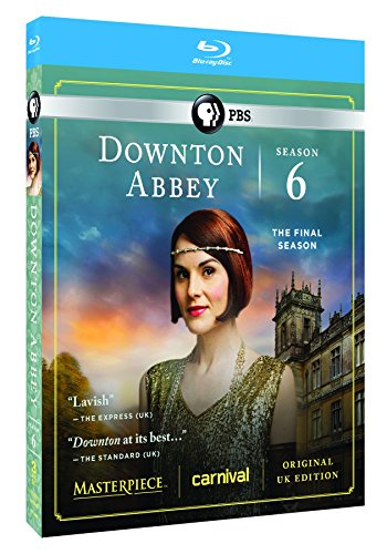Blu-ray : Downton Abbey: Season 6 (Masterpiece Classic) (Blu-ray)