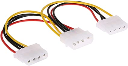 "24/"" 4 Pin Molex Power Connector IDE Extension Adapter Cable For PC Computer PSU"