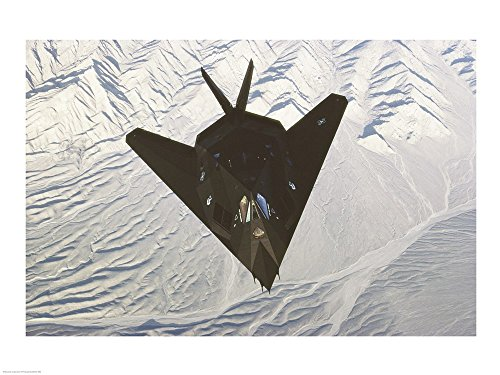 Lockheed F-117 Stealth Fighter Art Print, 19 x 14 inches for sale  Delivered anywhere in USA