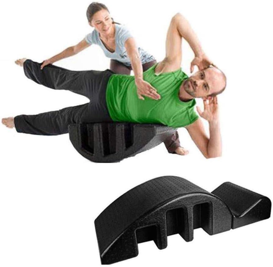 YF-SURINA Equipo deportivo Cama de masaje Corrector de columna pula Pilates Cama de masaje Órtesis de columna Cama de masaje multifunción Apuntando Cama Alivio del dolor Superficie abdominal Correcto
