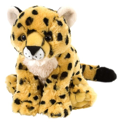 Wild Republic Cheetah Baby Plush, Stuffed Animal, Plush Toy, Gifts for Kids, Cuddlekins 8 Inches (Plush Cheetah)