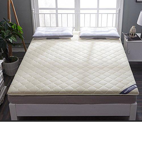 HYXL [cotton] Antibacterial Thicken Floor Mattress,Sponge [individual] [pad] [double] Tatami mats Floor mats For [dorm room]-C 90x200cm(35x79inch) by HYXL