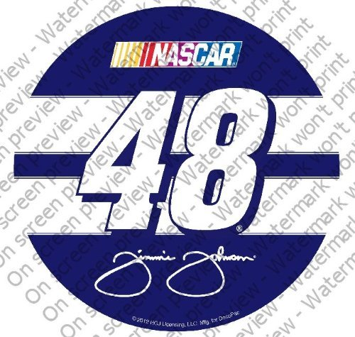1/4 Sheet ~ Nascar Jimmie Johnson #48 Logo ~ Edible Image Cake/Cupcake Topper!!!