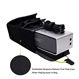 ITIS Carrying Travel Protective Case Cover Bag For Bose SoundLink Mini and II (2nd Gen) Bluetooth Speaker With ITIS Logo Cable Clip