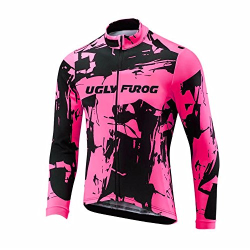 Uglyfrog #01 2018 New Mens Fasion Cycling Jersey Long Sleeve Shirts Spring&Autumn Style Top