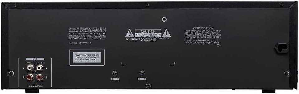 Tascam CD-A580 - Grabador CD/Cassette/USB: Amazon.es: Instrumentos ...