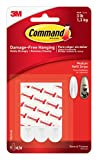 Command Refill Strips, Medium, White, 9-Strips