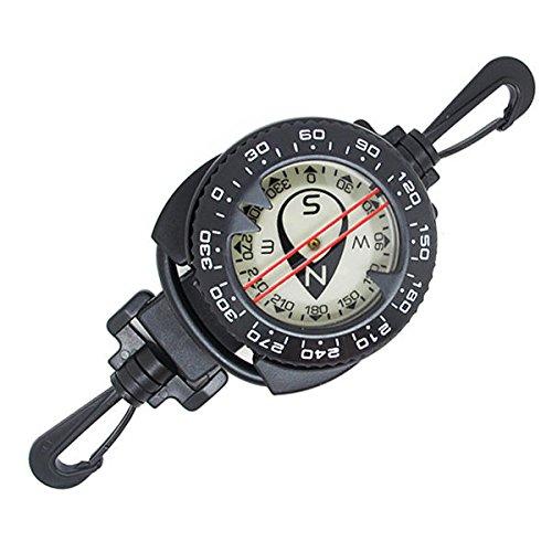 Scuba Choice Diving Dive Compass with Retractor - Genesis Dive Gear