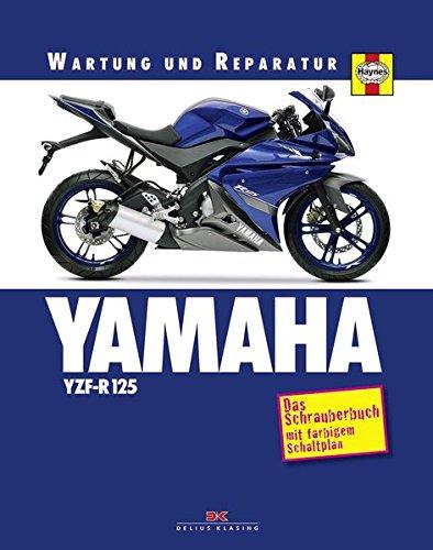 YAMAHA YZF-R 125: Das Schrauberbuch mit farbigem Schaltplan: Amazon ...