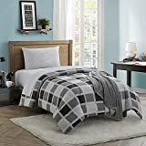 Dustin 16-Piece Twin/Twin XL Comforter Set in Grey
