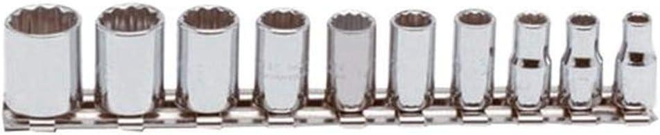 """Stanley PROTO J47100 10 Pcs 1//4/"""" Drive Socket Set SAE"""
