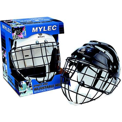 Mylec Jr. Helmet with Wire Face Guard, (Wire Face Guard)
