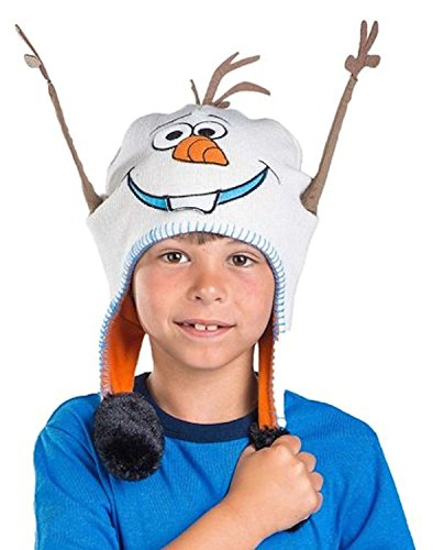 [Flipeez Disney Frozen Olaf the Snowman Hat] (Snowman Costume Hat)