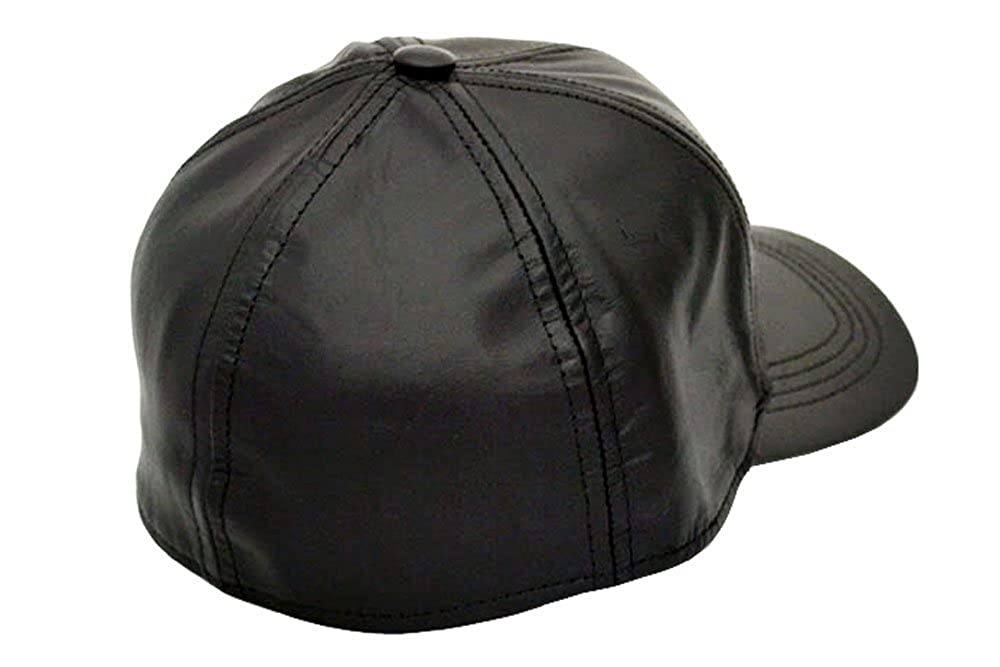 Emstate Fitted Genuine Cowhide Leather Baseball Caps Made in USA at Amazon  Men s Clothing store  5b7c445fcb4