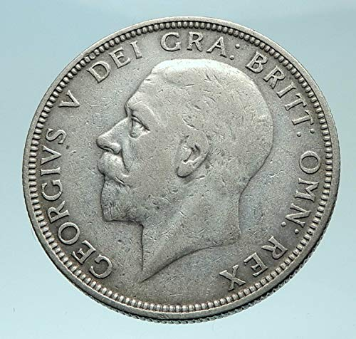 1933 unknown 1933 Great Britain UK United Kingdom Big SILVER F coin Good Uncertified