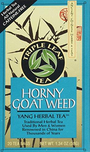 Triple Leaf Teas - Horny Goat Weed Tea, 20 bag