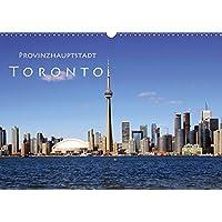 Provinzhauptstadt Toronto (Wandkalender 2019 DIN A3 quer): Stadt am Ontariosee (Monatskalender, 14 Seiten ) (CALVENDO Orte)