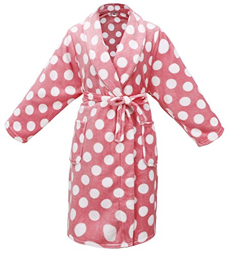 Simplicity Childrens Long Sleeved Bathrobe Pockets