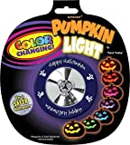"""Toys : Colour Changing Pumpkin Light Halloween Trick or Treat Party Pumpkin Carving Decoration, Plastic, 2"""""""