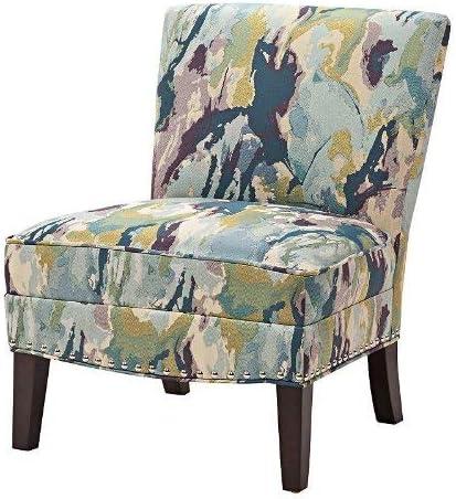 Madison Park Hayden Slipper Accent Chair Multi See Below
