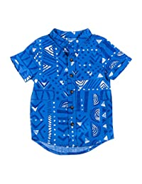 Kinderkind Boys GEO Button UP Shirt