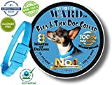 Dog Flea Treatment Collar - Vet Pet Flea Collar for Dogs - Flea and Tick Prevention - 8 Month Flea and Tick Control - One-Size-Fits-All - Hypoallergenic Flea Treatment with Essential Oils