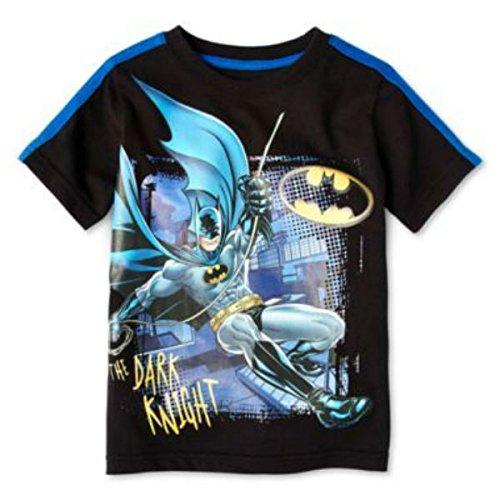 DC Comics Little Boys' Batman Boys Short Sleeve Tee Shirt ()