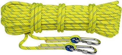 KTYXDE Cuerda de Escalada Cuerda de Seguridad Cuerda de Alta ...