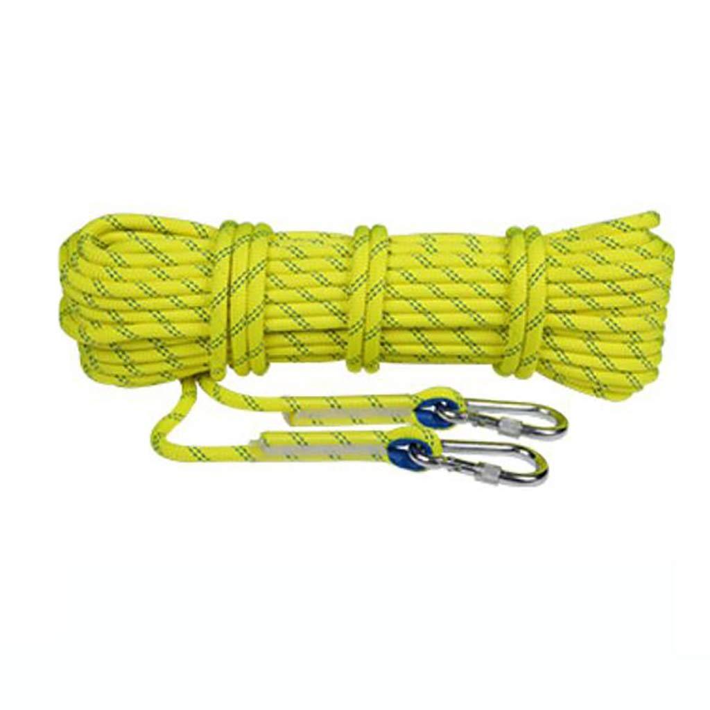 RENJUN Corde d'Escalade Hauteur de Corde de Corde d'Usure diamètre 11   12mm Longueur 10 15 20 30 50   100m Cordes (Taille   12mm 10m) 11mm 15m