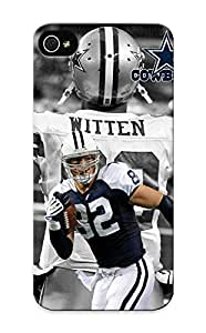 Durable Protector Case Cover With Jason Witten Cowboys Hot Design For Iphone 5/5s (ideal Gift For Lovers)