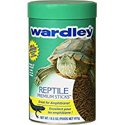 Wardley Reptile Sticks, 14-1/2-Ounce