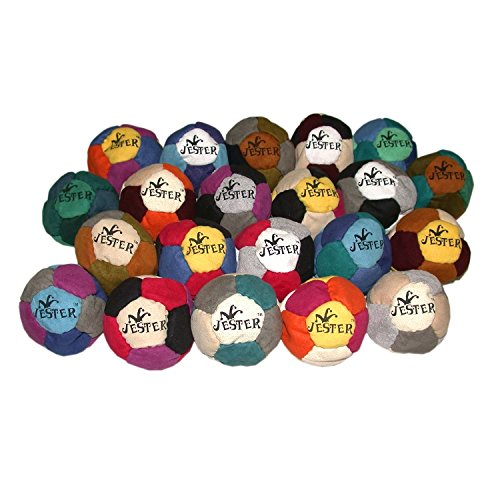 jester-assorted-color-12-panel-hacky-sack-footbag-quantity-1-comes-with-tips-game-instructions