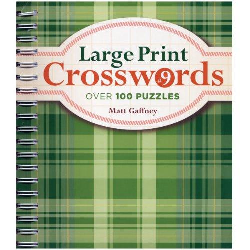 Large Print Crosswords No. 9
