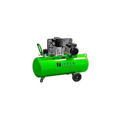 Zipper profesional Compresor Zi de com150 Impresión Compresor De Aire 150 litros caldera