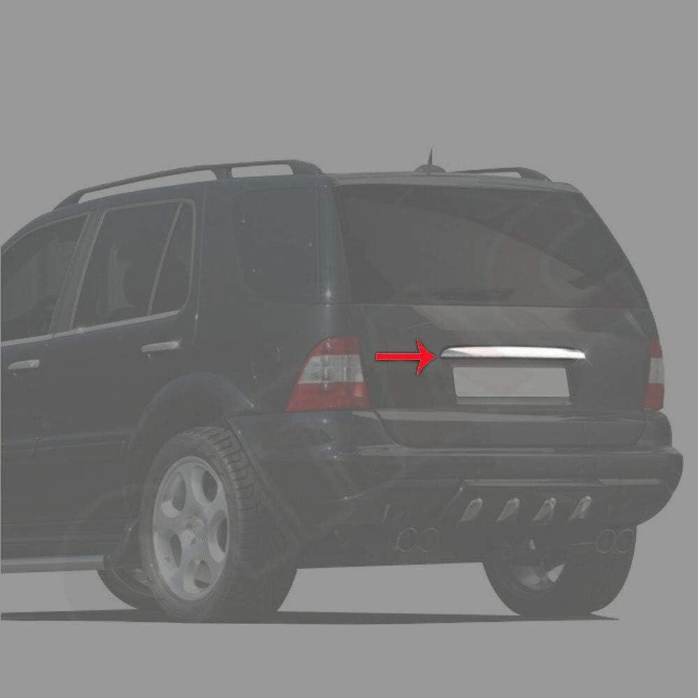 Kofferraumleiste Heckleiste Heckklappe Für Ml W163 1998 2005 Zierleiste Blende Aus Edelstahl Chrom Auto