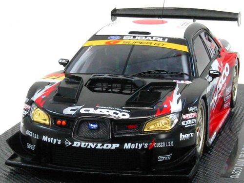1/43 クスコ ダンロップ スバル インプレッサ スーパーGT300 2008 EXEDY #77(ブラック×レッド) 「オートバックス SUPER GT 2008シリーズ」 44064