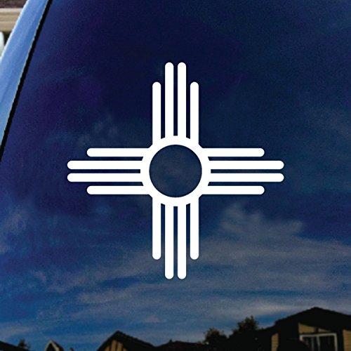 SoCoolDesign New Mexico Symbol Car Window Vinyl Decal Sticker 4