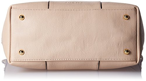 Klein Hobo Block Color Leather Wheat Faux Calvin wvAzBz