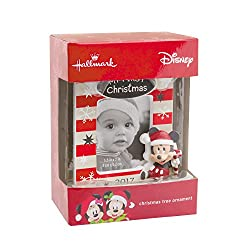 Hallmark Disney Mickey Mouse Baby's First Christmas 2017...