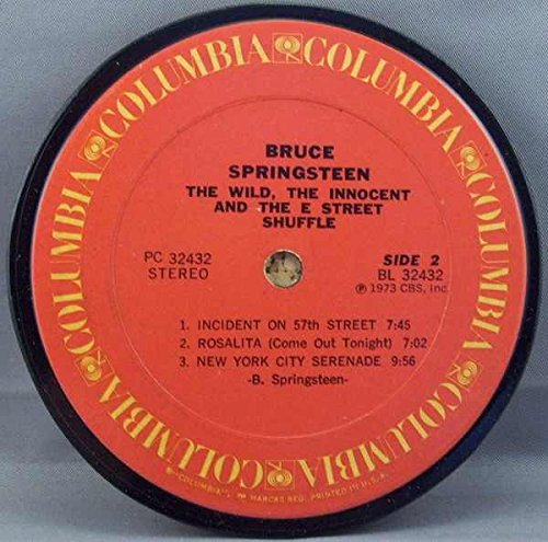 Bruce Springsteen - Wild The Innocent And The E. Street Shuffle (Coaster)