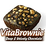 Vital & Delicious Vitabrownies, Deep Velvety Chocolate, 32 Count