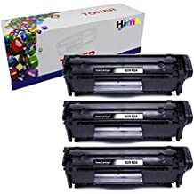 HI INK 3 PK 12A Q2612A Toner Cartridges For HP Laserjet 1010 1012 1015 1018 1020 1022 1022n 1022nw 3015 M1005 M1319F Printer